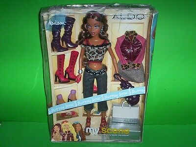 Barbie My Scene MADISON Doll Shopping Spree ALDO Extra Outfit & Boots C1247