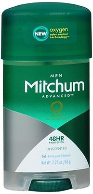 Mitchum Power Gel Anti-Perspirant Deodorant Unscented 2.25 oz