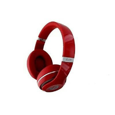 Beats By Dr. Dre B0500 (Red) Studio 2.0 Wired Over-Ear Headphones