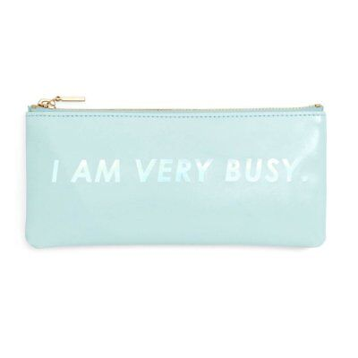 NEW Ban.do Pencil Pouch - I am Very Busy