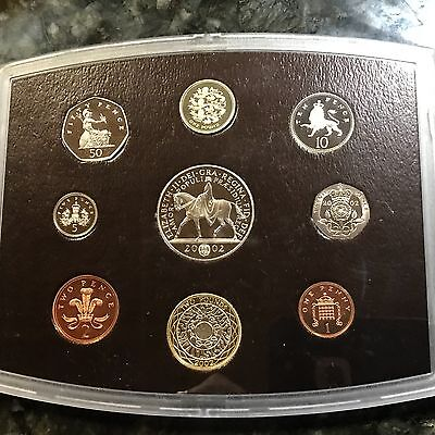 2002 Great Britain  Proof Set 9 Gem Coins