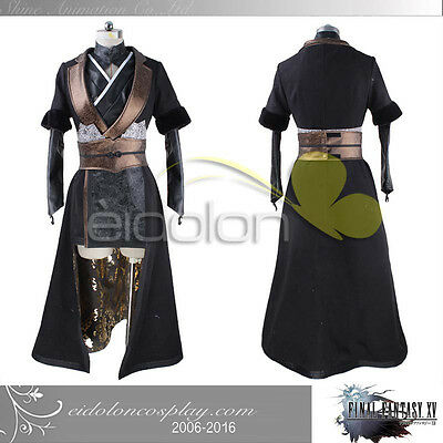 EE0025CI FINAL FANTASY XV Gentiana Cosplay Costume FF15