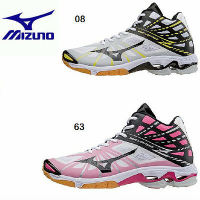 New Mizuno Unisex Volleyball Shoes WAVE LIGHTNING Z MID V1GA1505 Freeshipping!!