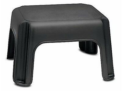 Addis Step Stool Black Light Weight Easy To Carry And Store Top Quality New