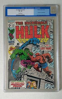 The Incredible Hulk #122 CGC 5.5 Fantastic Four Appearance