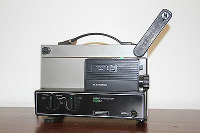 Hanimex Regular and Super 8 Movie Projector 808D Damaged Spindle WITH SPARE BELT