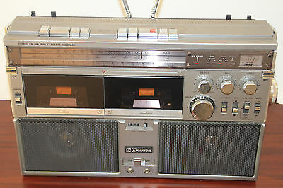 Emerson CTR944 Vintage Boombox Ghettoblaster (Faulty) PHONO JAPAN