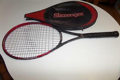 SLAZENGER Comp TI Panther Series TENNIS RACQUET No 2 4 1/4 TITANIUM + cover