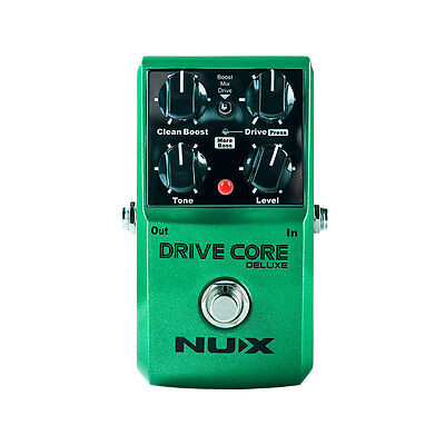 NUX DRIVE Core Deluxe Guitar Effect Pedal Mixture of Overdrive Sound True Bypass
