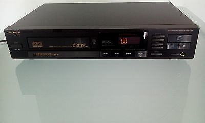 Crown Japan cd compact disc player cd-80r cd-80
