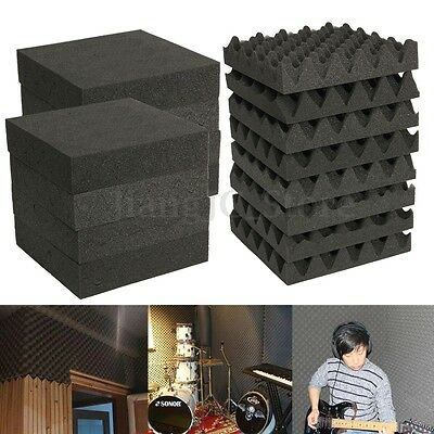 4/12/24X Acoustic Absorption Foam Sound Noise Absorbing Insulation Panel KTV AU