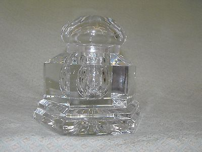 Baccarat French Crystal Victor Hugo Limited Edition Inkwell