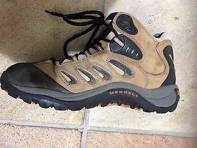 "Mens Brown "" Merrell ""  Outdoor  Lace Up Shoes,size :us:10, Eur:44!!!!"
