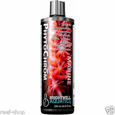 Brightwell PhytoChrom Phytoplankton 250 ml Live Coral Food FREE USA SHIPPING!