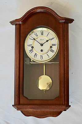 Vintage Style Hermle Westminster Chime Mechanical Wooden Wall Clock