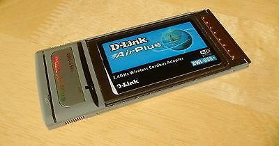 D-Link AirPlus Wireless Cardbus Adaptor - DWL-650+