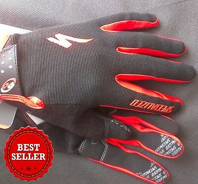 NEW 2017 Specialized Body Geometry Long Finger Cycling Gloves With Gel Padding