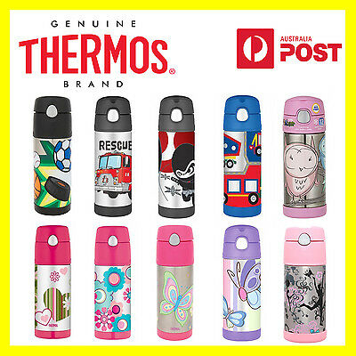 100% Genuine! THERMOS Funtainer Kids S/Steel 355ml Vacuum Insulated Drink Bottle
