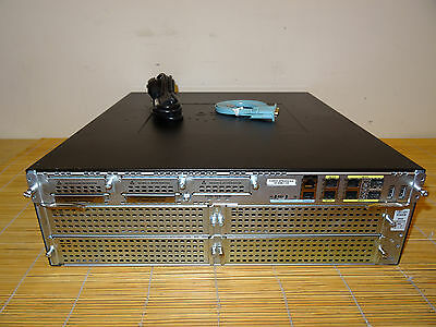 Cisco 3945E/K9  Router with Base License C3900-SPE250/K9,1GB RAM, 256MB FLASH