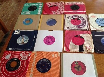 "Psych - Beat - Mod Job Lot Of 15 7""45'S- Zombies/Kinks/Status Quo V.Good Cond."