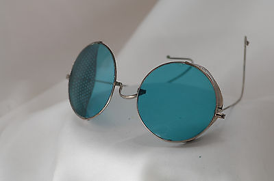 antique spectacles, sunglasses, driving glasses, steampunk, aviator, Harley