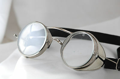 antique goggles, motorcycle, driving glasses, safety, Steampunk, Harley