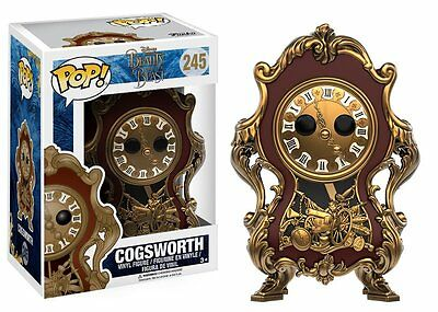 Disney Live Action 2017 Beauty and the Beast Pop! Vinyl - Cogsworth