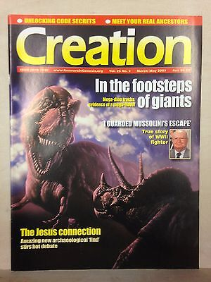 Creation Magazine: Vol. 25 No. 2 March- May 2003