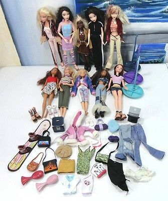HUGE My Scene Doll Lot All DRESSED Accessories CLOTHES Awesome Lot