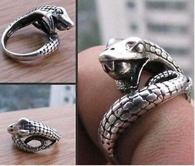 Beautiful Tibet Style Animal Snake Ring Free Shipping V4Jn