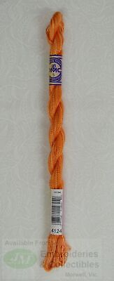 DMC Perle Cotton Variations Size 5, 25m Skein, Colour 4124 BONFIRE