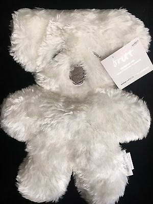 Genuine Britt White Flat Bear RRP $39 Australian Designed