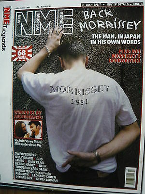 Morrissey - Magazine Cutting (Full Page Photo) (Ref Ga2)
