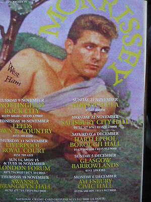 Morrissey - Magazine Cutting (Full Page Advert) (Ref Jd2)