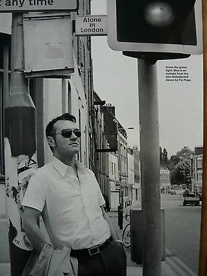 Morrissey - Magazine Cutting (Full Page Photo) (Ref Jd6)