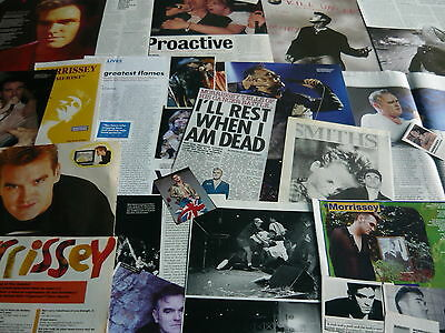 Morrissey - Magazine Cuttings Collection (Ref Z14)