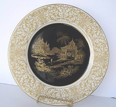 Syracuse China Old Ivory O. P. Co. Dinner Plate