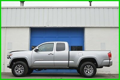 2016 Toyota Tacoma SR5 Access Cab 4WD 4X4 Automatic Rear Cam Save Big Repairable Rebuildable Salvage Lot Drives Great Project Builder Fixer Easy Fix