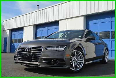 2016 Audi A7 3.0 TDI Prestige Quatrro AWD S-Line Nav Loaded +++ Bose Audio Blind Spot Mntr Heated & Cooled Seats Surround View Cam Laser Cruise