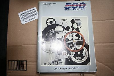 Indianapolis 500 66TH May 30 1982 official program and ticket