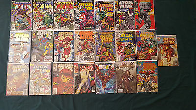 Marvel Invincible Iron Man 22 Comic lot 1981 - Modern