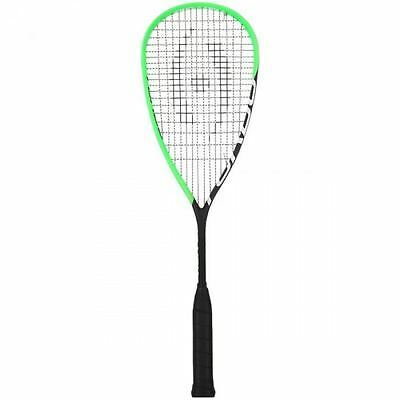 2017 Harrow Turbo Squash Racquet - Black/Lime