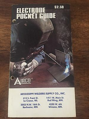 Electrode Pocket Guide & Safe Practices in Welding & Cutting Advertising