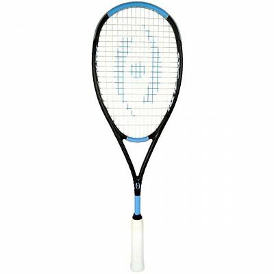 2017 Harrow Stealth Ultralite Squash Racquet - Black/Carolina