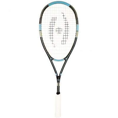 2017 Stealth Squash Racquet - Black/Carolina/Grey