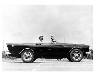 1961 Sunbeam Alpine Factory Photo ub0356