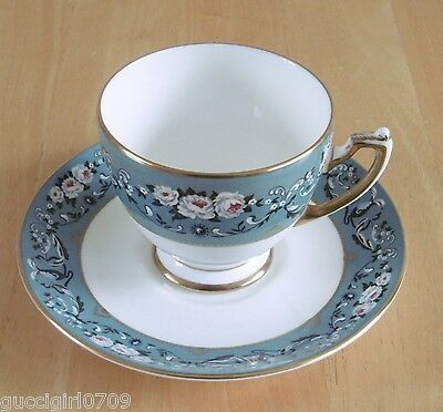 Vintage Wedgwood Ralph Lauren Bone China Tea Cup & Saucer - Annalia