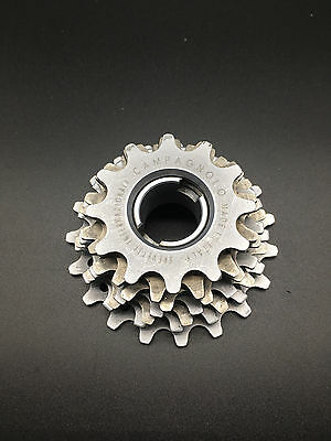 Vintage Campagnolo Record Alloy Freewheel 7 Speed 12-19T Italian Thread