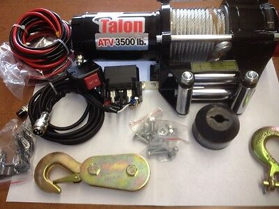 ATV / UTV 3500# Talon Deluxe Winch Kit