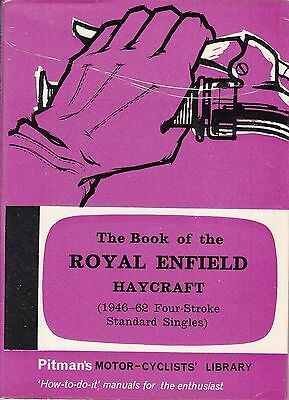 Pitman's ~ BOOK of the ROYAL ENFIELD Four Stroke Motorcycle 1946-1962 Haycraft